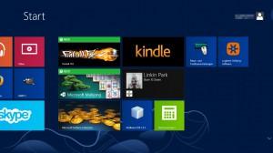 Die Kachel-Oberfläche von Windows 8